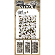 Tim Holtz Mini Layering Stencil - Set 35