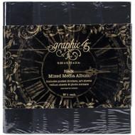 """Graphic 45 Staples Mixed Media Album 8""""X8"""" (4501022)"""
