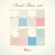 Pion Design - Seaside Stories - 6 x 6 - Collection (PD17000)