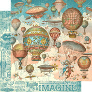 Graphic 45 - Imagine - 12 x 12 Up and Away