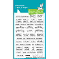 Lawn Fawn Reveal Wheel Sentiments Stamp Set (LF1701)
