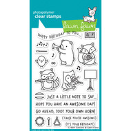 Lawn Fawn Critter Concert Stamp Set (LF1682)