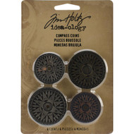 "Tim Holtz Idea-Ology Gauges 1.25"" & 1.5"" 4/Pkg (TH93061)"