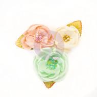 Prima Marketing - Santa Baby Flowers - Cotton Candy Christmas