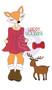 Prima Marketing - Julie Nutting Stamp  - Foxy