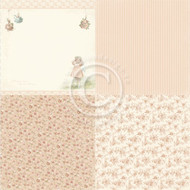 Pion Design - Life Is Peachy - 6 x 6 Pretty As A Peach