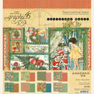 Graphic 45 - Christmas Magic - 8 x 8 Paper Pad