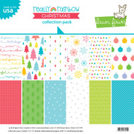 Lawn Fawn Really Rainbow Christmas Collection