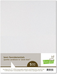 Lawn Fawn Sparkle Cardstock - Pixie Dust