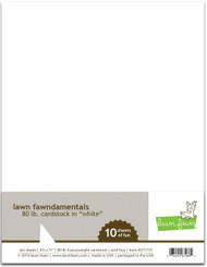 Lawn Fawn Cardstock - 80lb White