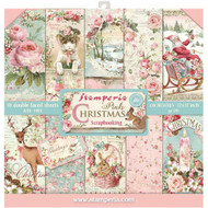 Stamperia - 12 x 12 Paper Pad - Pink Christmas