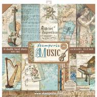 Stamperia - 12 x 12 Paper Pad - Music