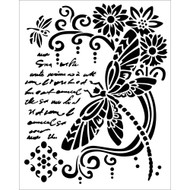 Stamperia - Stencil - Dragonfly
