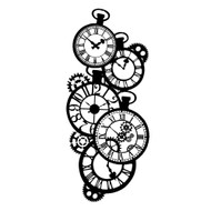 Stamperia - Stencil - Clocks