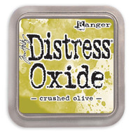 Tim Holtz Distress Oxide Ink - Crushed Olive