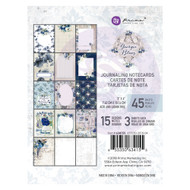Prima Marketing - Georgia Blues - 3 x 4 Journaling Cards