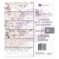 Prima Marketing - Lavender Frost - 6 x 6 Paper Pad