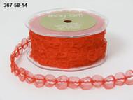 Sheer Looped - Red