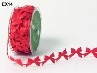 Satin Cutouts - Red Bows