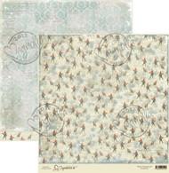 magnolia stamps 12 x 12 paper north poles