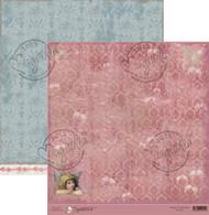 magnolia stamps 12 x 12 Peaceful