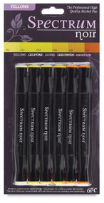 New Spectrum Noir Markers 6 pack - YELLOWS