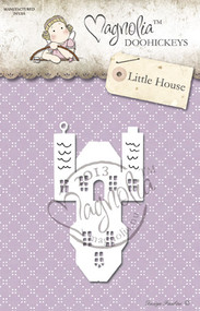 Metal Die Paper Cutting Die Size: 90 x 55 mm From the Winter Wonderland Collection 2013 LITTLE HOUSE