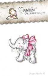 Magnolia Stamps new Lost & Found Collection 2014 - LITTLE TRUMPETY WITH BOW