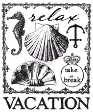 Prima Marketing Seashore Collection - Clear Stamp 2
