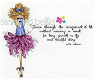 Stamping Bella's Uptown Girls MARCELLA GOES TO A MASQUERADE