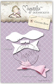 Magnolia Stamps DooHickey Groom Bow