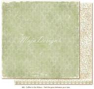 Maja Design - Coffee in the Arbour - Feel the Grass 12 x 12 double-sided cardstock.
