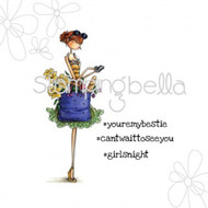 Stamping Bella - Uptown Girls - Tiffany Loves To Text