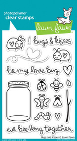Lawn Fawn Bugs and Kisses Stamps