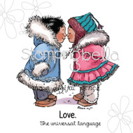 Mo Manning Stamps Eskimo Kisses