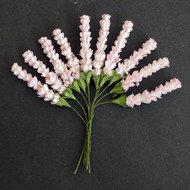 Wild Orchid Crafts Heather Stems 2-Tone Baby Pink