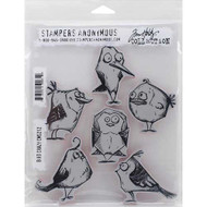 Tim Holtz Stampers Anonymous Cling Stamp Bird Crazy