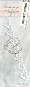 Magnolia Stamps DooHickey Vintage Box Lacing Coffee