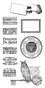 Graphic 45 Rare Oddities Cling Stamp #2