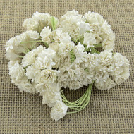 Wild Orchid Crafts White Gypsophila paper flowers