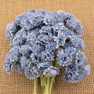 Wild Orchid Crafts 2-Tone Antique Blue Gypsophila paper flowers