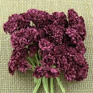 Wild Orchid Crafts Burgandy Gypsophila paper flowers