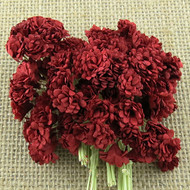 Wild Orchid Crafts Deep Red Gypsophila paper flowers