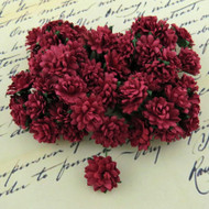 Wild Orchid Crafts Aster Daisy Deep Red