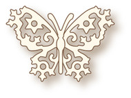 Wild Rose Studio Cutting Die Little Frosted Butterfly
