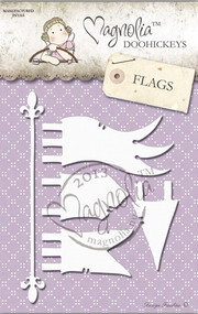 Magnolia Stamps DooHickey - Once Upon a Time - Events Flags