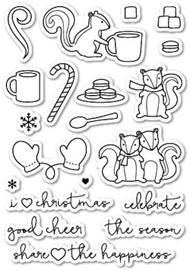 Poppystamps - Cup of Cheer - Clear Stamp Set