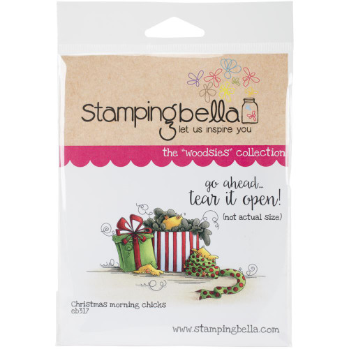 Stamping Bella - Woodsies Christmas Morning Chicks (EB317)