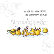 Stamping Bella - Woodsies Caroling Chicks (EB319)