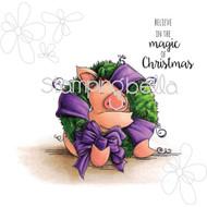 Stamping Bella - Woodsies Petunia Loves Christmas (EB320) 1
